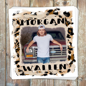 Morgan Wallen Truck Sticker