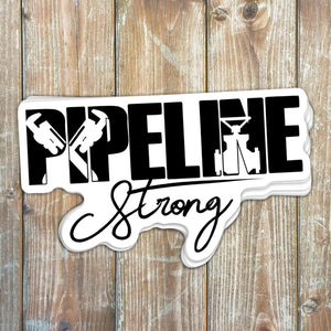 Pipeline Strong Sticker