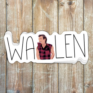 Wallen Sticker
