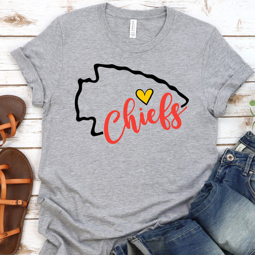 Kansas City Chiefs Arrow Tee