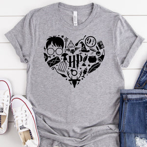 Harry Potter Heart Tee