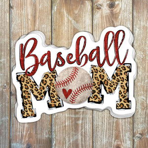 Baseball Mom Sticker