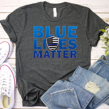 Load image into Gallery viewer, Blue Lives Matter Tee