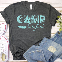 Load image into Gallery viewer, Camp Life Tee