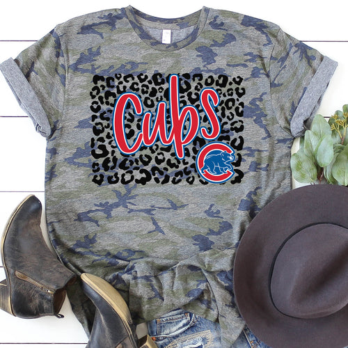 Chicago Cubs Leopard Tee