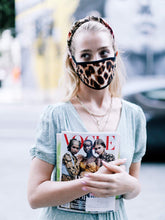 Load image into Gallery viewer, Leopard Cotton Face Mask