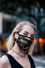 Load image into Gallery viewer, Camo Cotton Face Mask