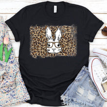 Load image into Gallery viewer, Leopard Easter Bunny Tee