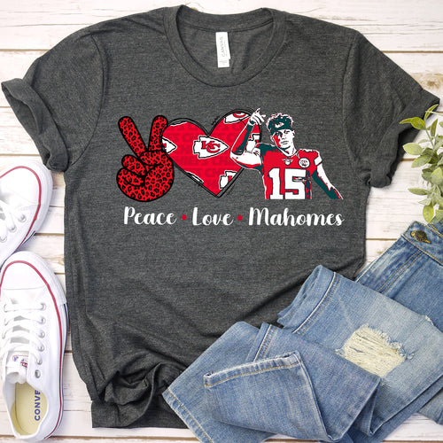 Peace Love Mahomes Tee