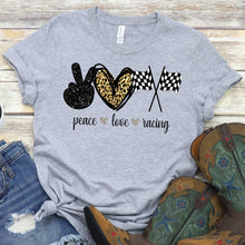Load image into Gallery viewer, Peace Love Racing Tee