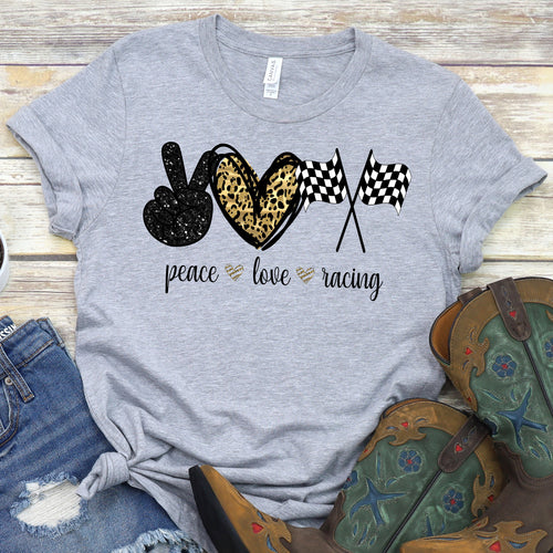 Peace Love Racing Tee