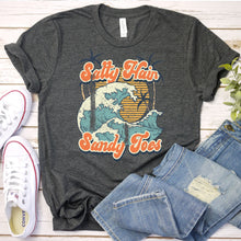 Load image into Gallery viewer, Salty Hair, Sandy Toes Tee
