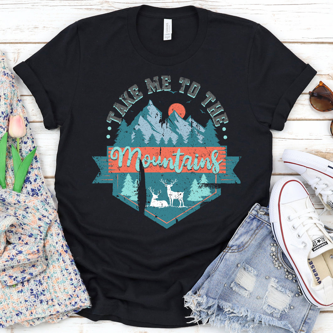 Take Me To The Mountains Tee