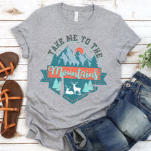 Load image into Gallery viewer, Take Me To The Mountains Tee