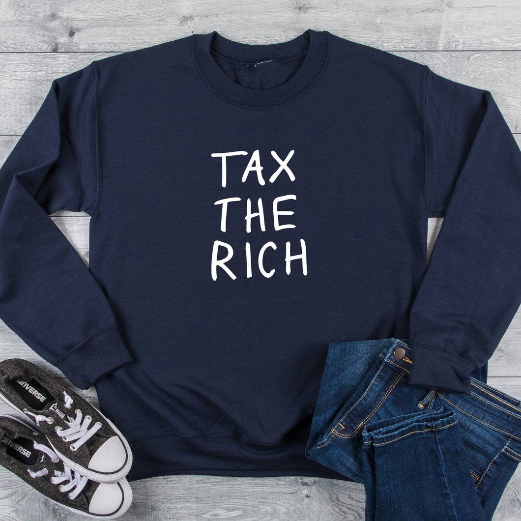 Tax The Rich Crew Neck Sweater