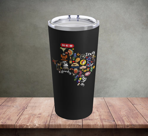 Texas Favorites Tumbler