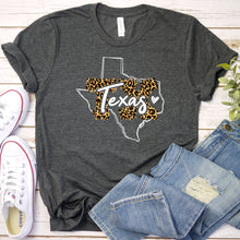Load image into Gallery viewer, Texas Cheetah State Tee