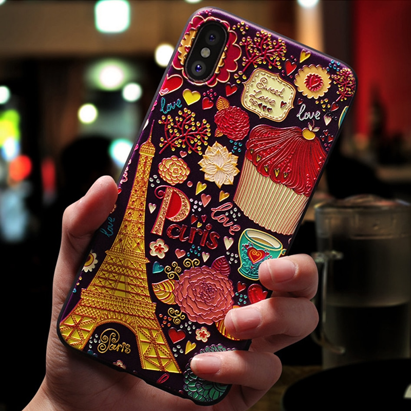 3D Embossed Phone Case