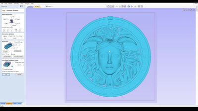 How to import a 3D STL file in Aspire, VCarve 10 with i2R UCCNC