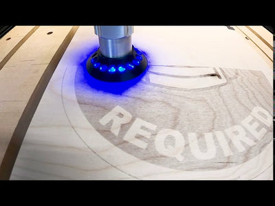 All i2R CNC line can add Laser Engraving Function.