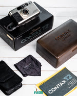 Mint Contax T2 Platin Limited Edition Full Box