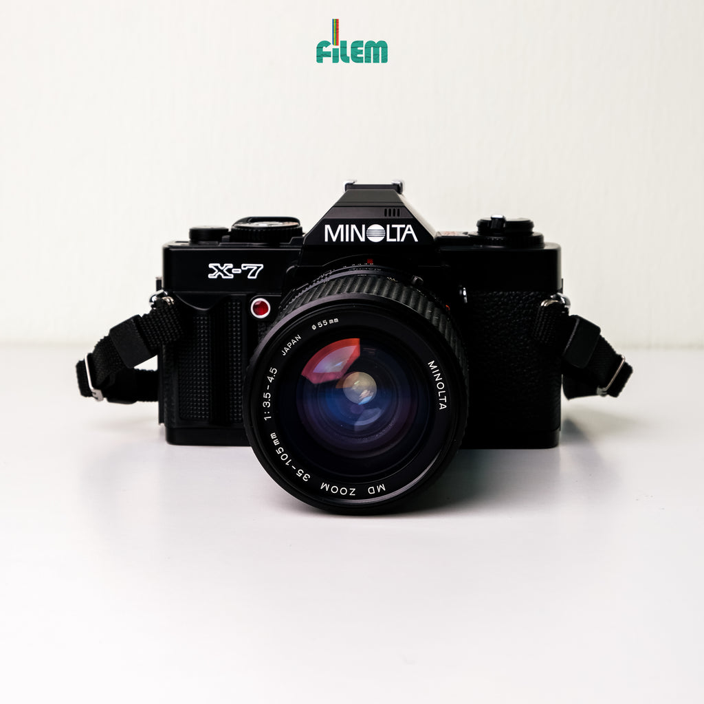 Minolta X-7 with MD 50mm f/1.7