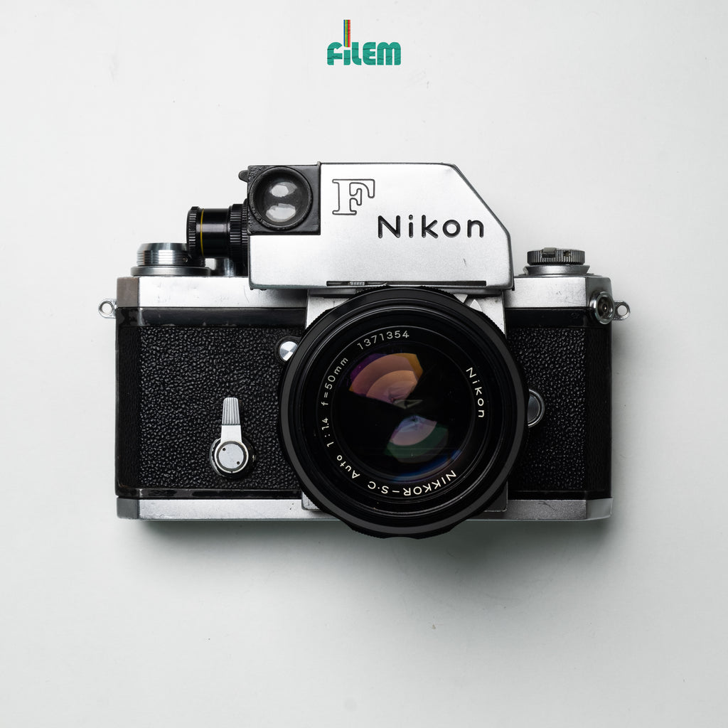 Nikon F Photomic with Nikkor-S Auto 50mm f/1.4