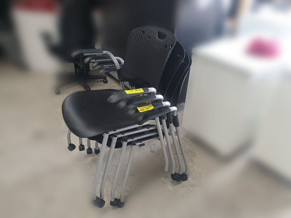 Stacker Chairs - With Wheels - Plastic