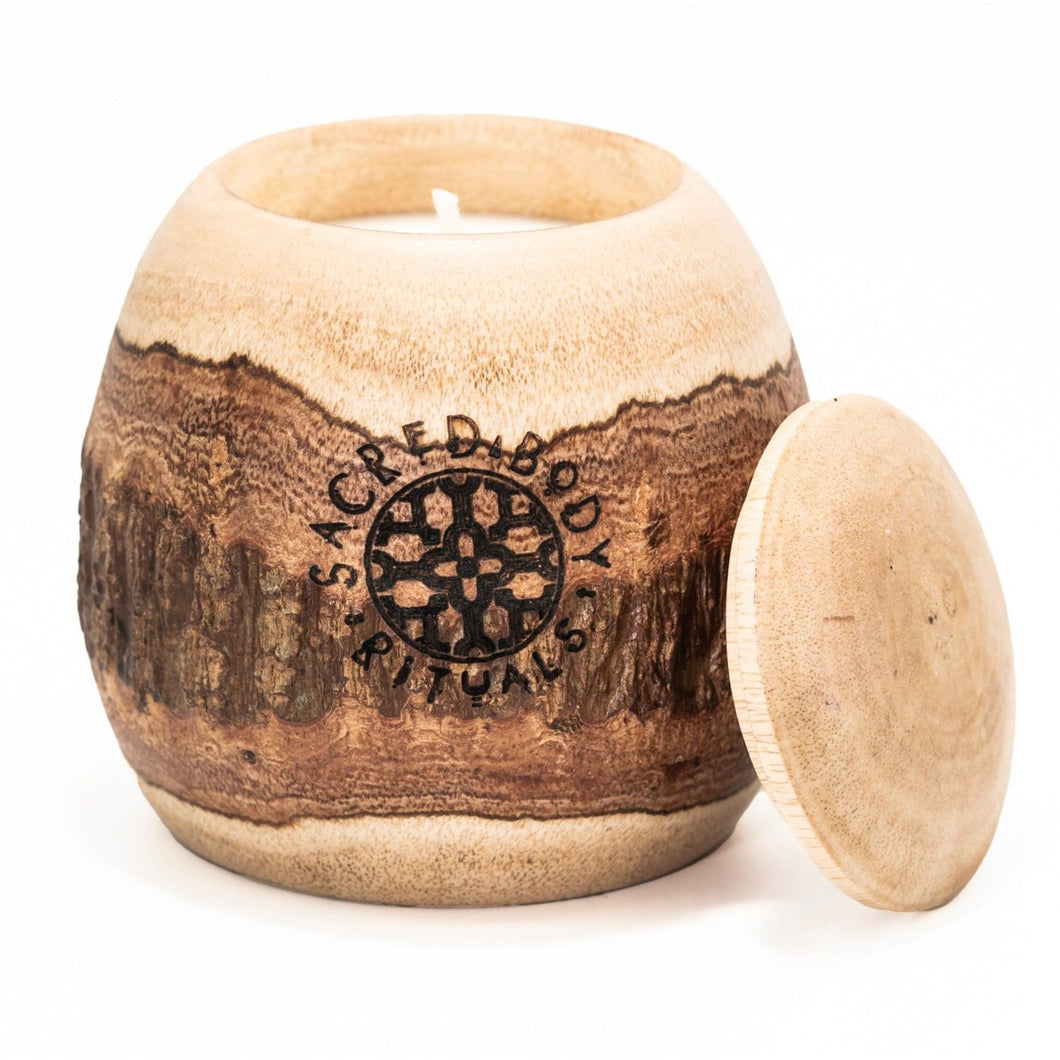 Sacred Palo Santo Scented Candle - 250g