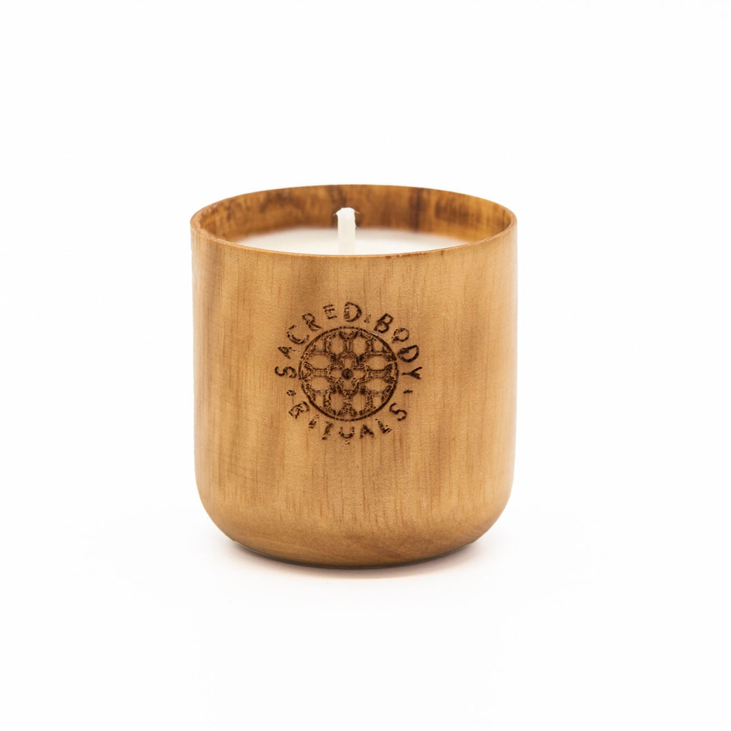 Small Palo Santo Scented Travel Candle