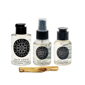All Natural Palo Santo Gift Pack