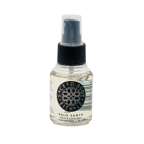 Small Palo Santo Small Space & Cloth Mist Spray - 60ml