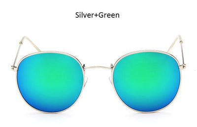 silver and green shades