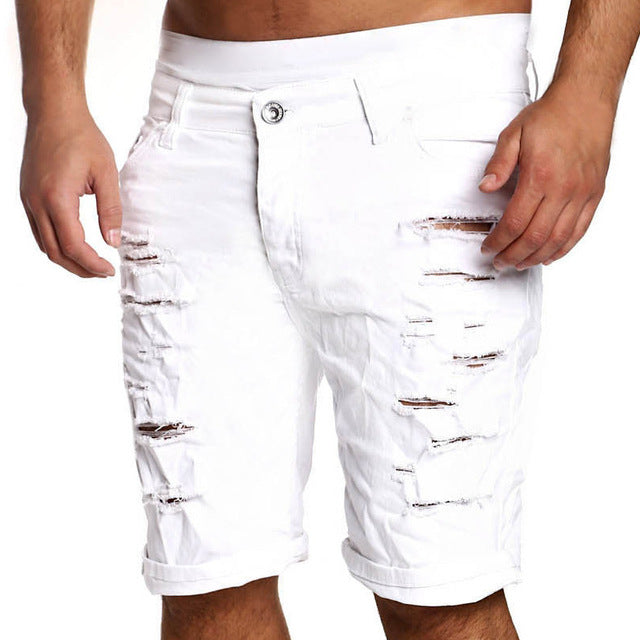 Ripped Denim Short's