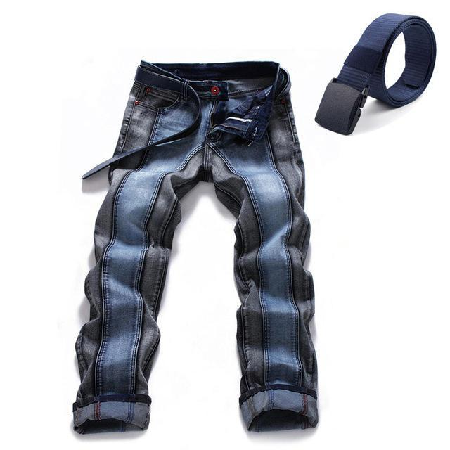 High Quality Stripe Denim Jeans
