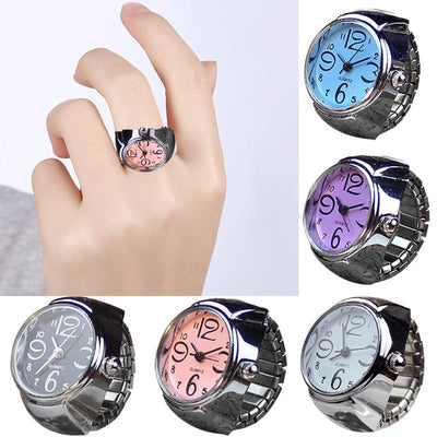 Quartz Finger Ring Watch