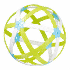 LaQ green and white sphere