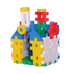 Red castle featured in the gakken builder set
