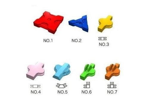 LaQ Free Style 250 piece bag (Pick-a-Color & Shape)