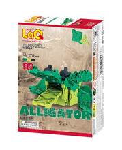 Load image into Gallery viewer, Alligator package front view from the LaQ animal world set