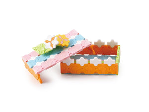 Jewelry box featured in the LaQ basic 211 pastel set