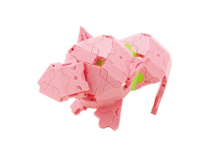 Pig featured in the LaQ basic 5000 set