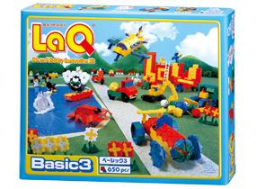 Package featured in the LaQ basic 3 set
