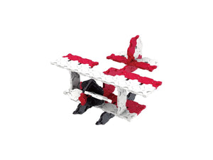 Airplane featured in the LaQ basic 801 set