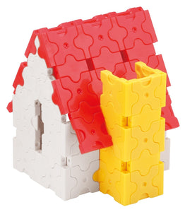 House featured in the LaQ basic 5000 set