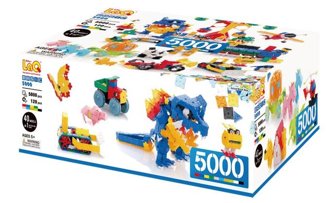 Package featured in the LaQ basic 5000 set