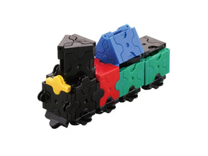 Little locomotive featured in the LaQ basic 801 set