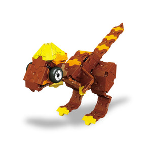 Pachycephalosaurus featured in the LaQ dino triceratops and pteranodon set