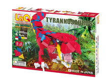 Load image into Gallery viewer, Package front view featured in the LaQ dinosaur world tyrannosaurus set