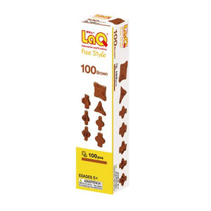 LaQ Free Style 100 brown